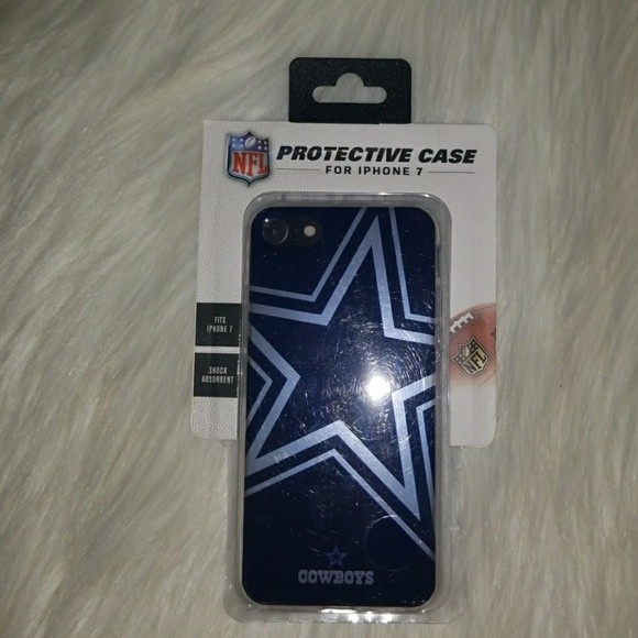 low priced 58f37 b1993 NFL Dallas Cowboys Phone Case for iPhone 7 NWT